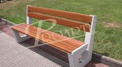 Olmedo bench in wood