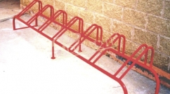 6 place cycle stands