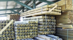 Timber for outdoor use
