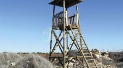 Simple look-out tower with roof