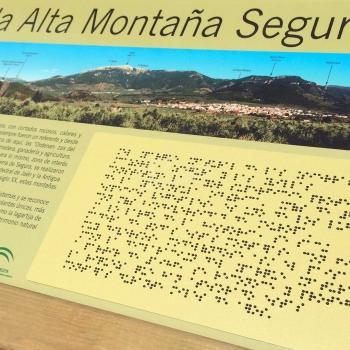 Sendero accesible Garganta de Hornos, en la sierra de Segura