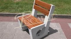 Individual Olmedo bench