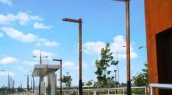 Farola de madera Toledo