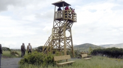 Look-out tower complete with platform