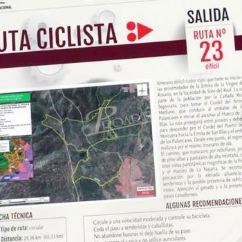 Rutas BTT por el Parque Nacional de la Sierra de Guadarrama