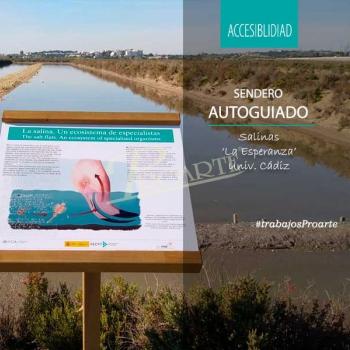 Senderos autointerpretativos accesibles Salinas La Esperanza